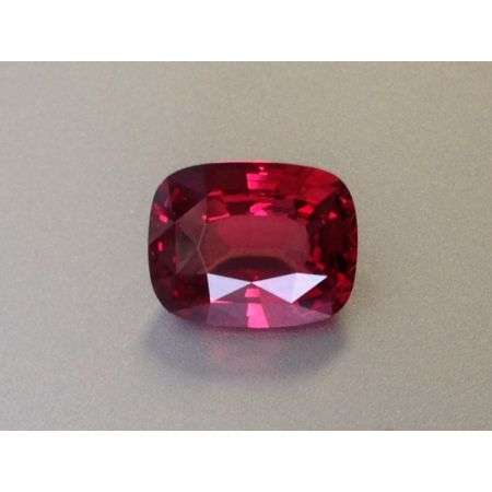 Natural Red Spinel red color cushion shape 3.75 carats GIA Report