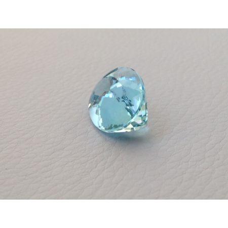 Natural Aquamarine light blue color oval shape 16.38 carats