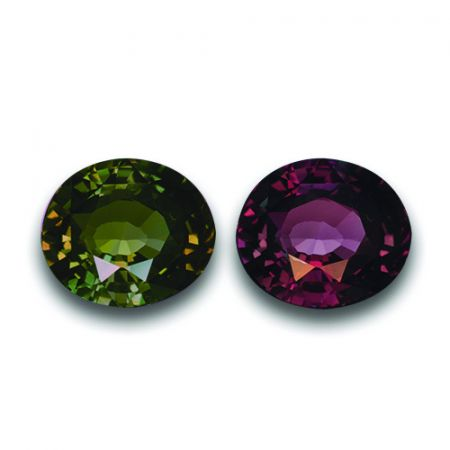 Natural Alexandrite 4.13 carats with GIA Report / video