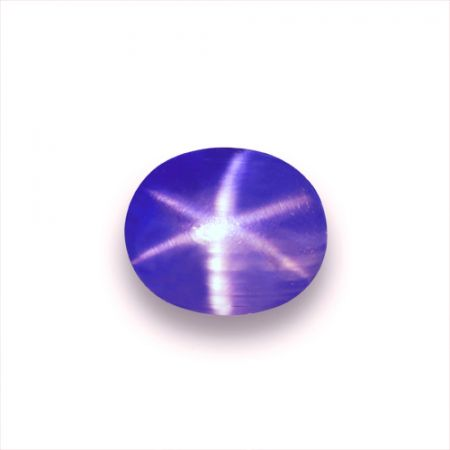 5.10cts GRS CERTIFIED BLUE STAR SAPPHIRE