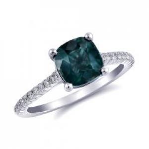 Blue-Green Sapphire Rings