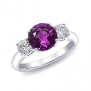 Purple Sapphire Rings