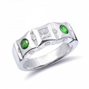 Russian Demantoid Rings